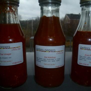 Home Made Chili sausjes (november)