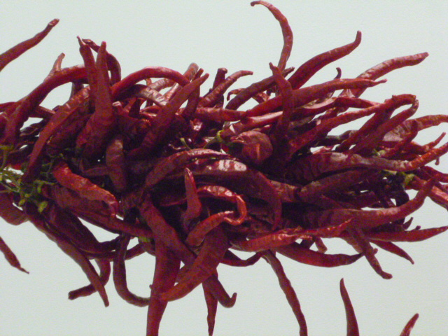 Rastra van Cayenne-type pepers