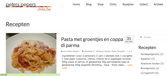 Hoe post je een recept op chilis.be?